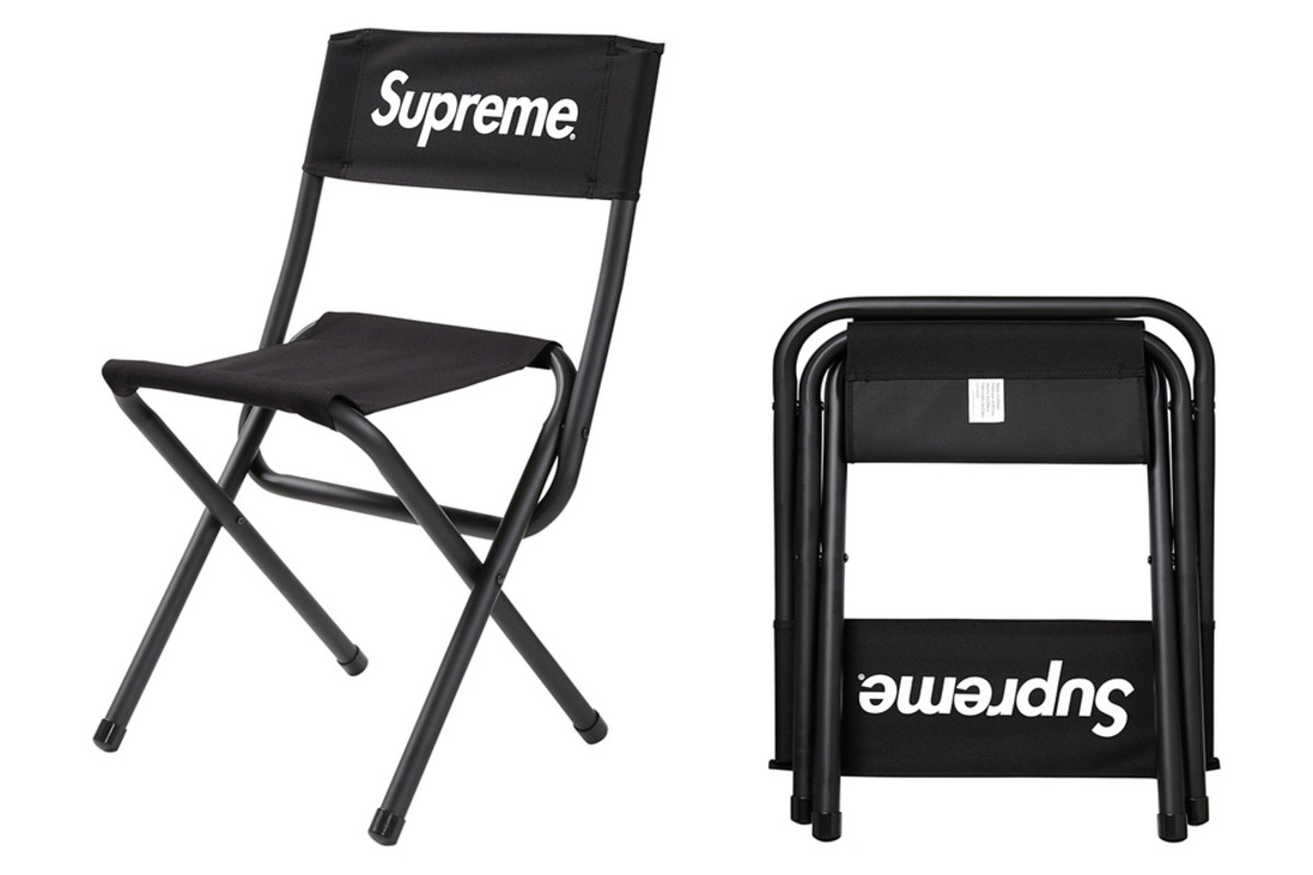 Supreme X Coleman Folding Chair Freshness Mag