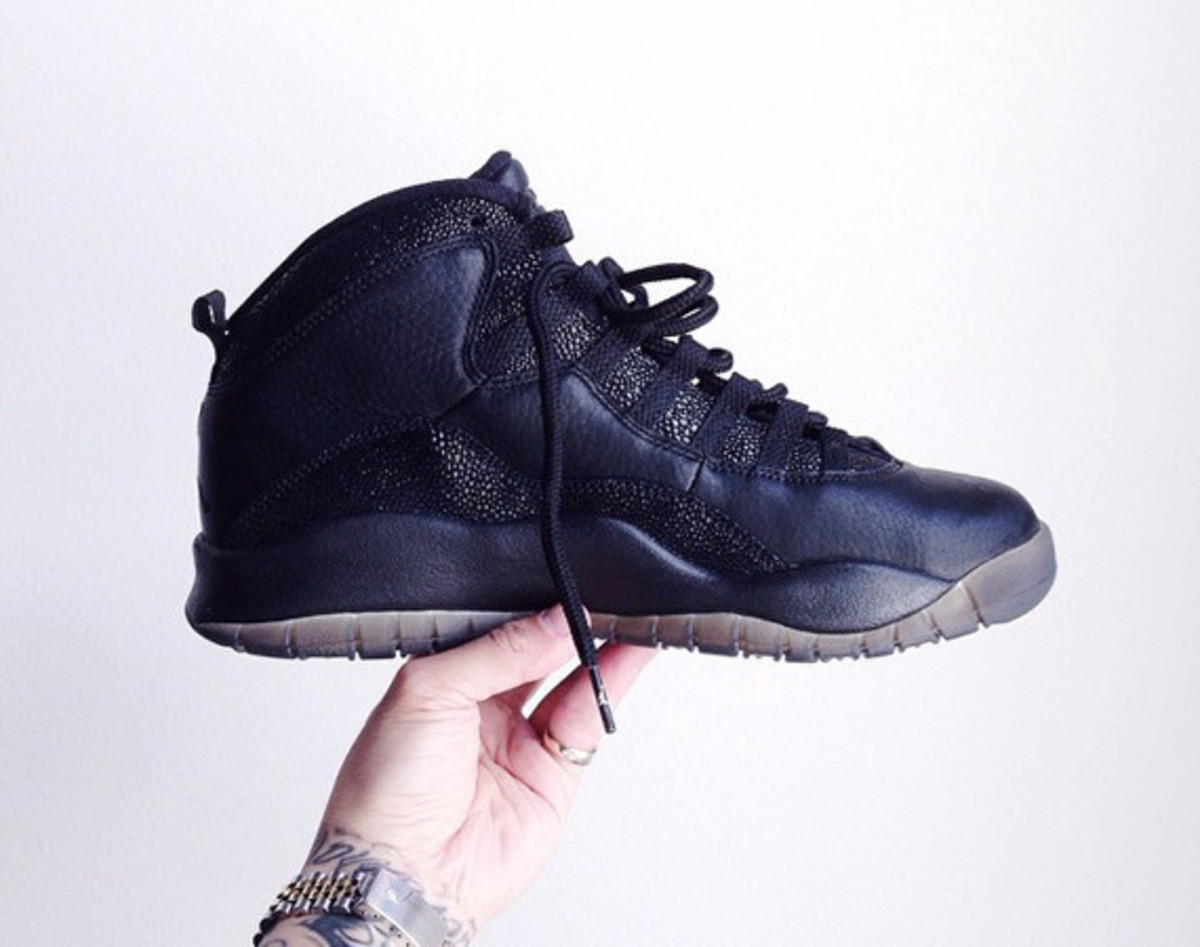 086069be5eb ovo-air-jordan-10-released-00. Yesterday, lucky shoppers at the OVO pop-up  shop ...