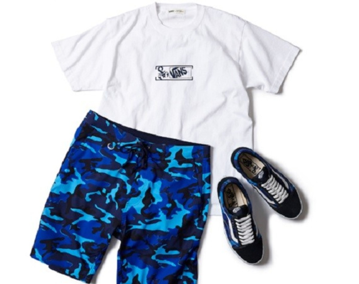 18cc3de050 SOPHNET. has tapped the team from Vans to put together a complete Beach Pack  to outfit you from tee to toe this summer. Comprised of three different  pieces