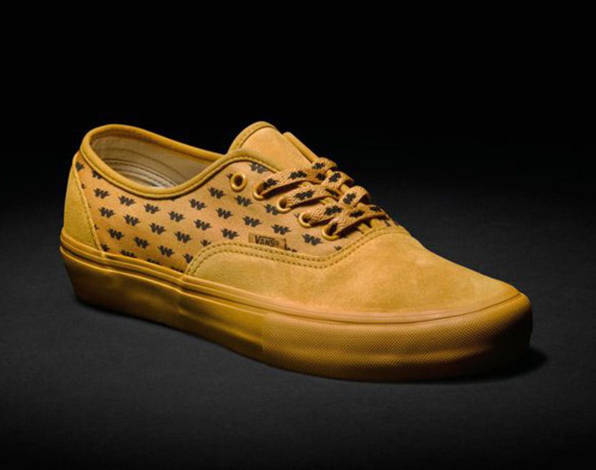 9f5986f73d WTAPS and Vans Syndicate Team Up on a Yellowed Out Authentic ...