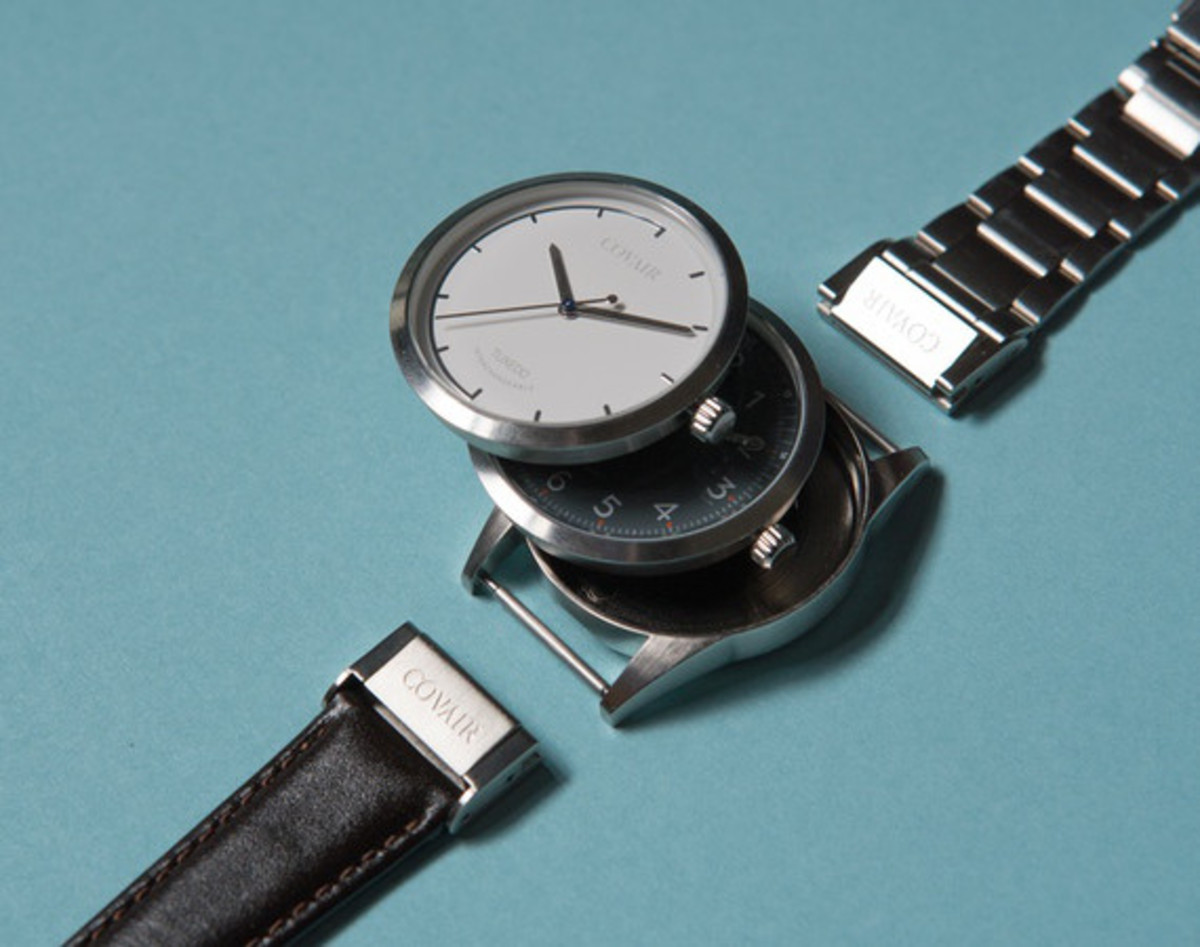 Covair Offers Interchangeable Watches With Quick-Change Straps
