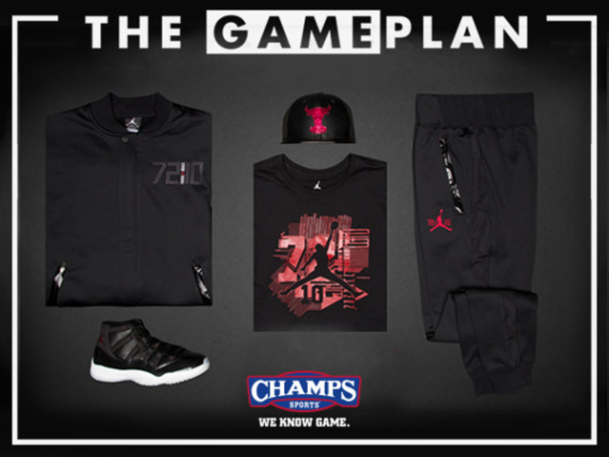 """deb32a7d7d6 The Game Plan from Champs Sports Presents the Air Jordan """"72-10"""" collection  - Freshness Mag"""