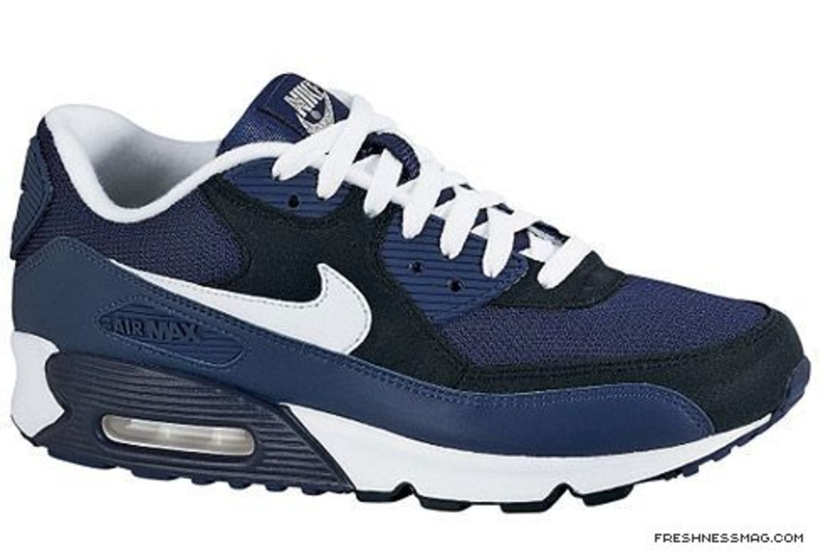 Nike - Air Max 90 EX Midnight Navy/White-Black