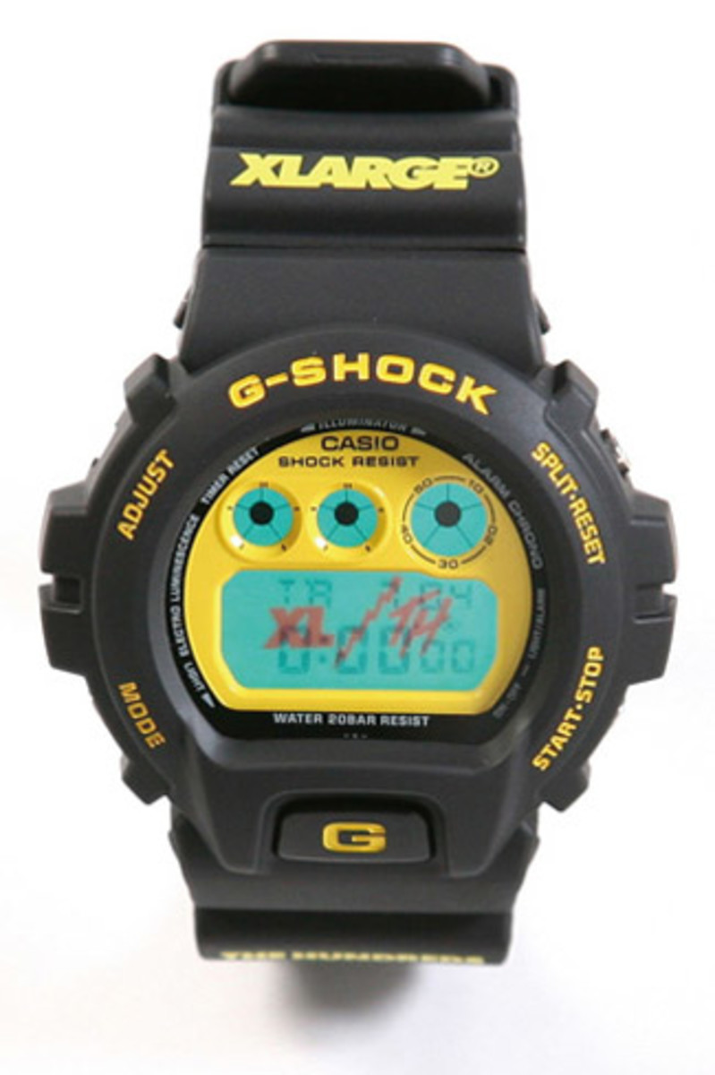 XLARGE x The Hundreds x Casio G-Shock DW-6900 - 0