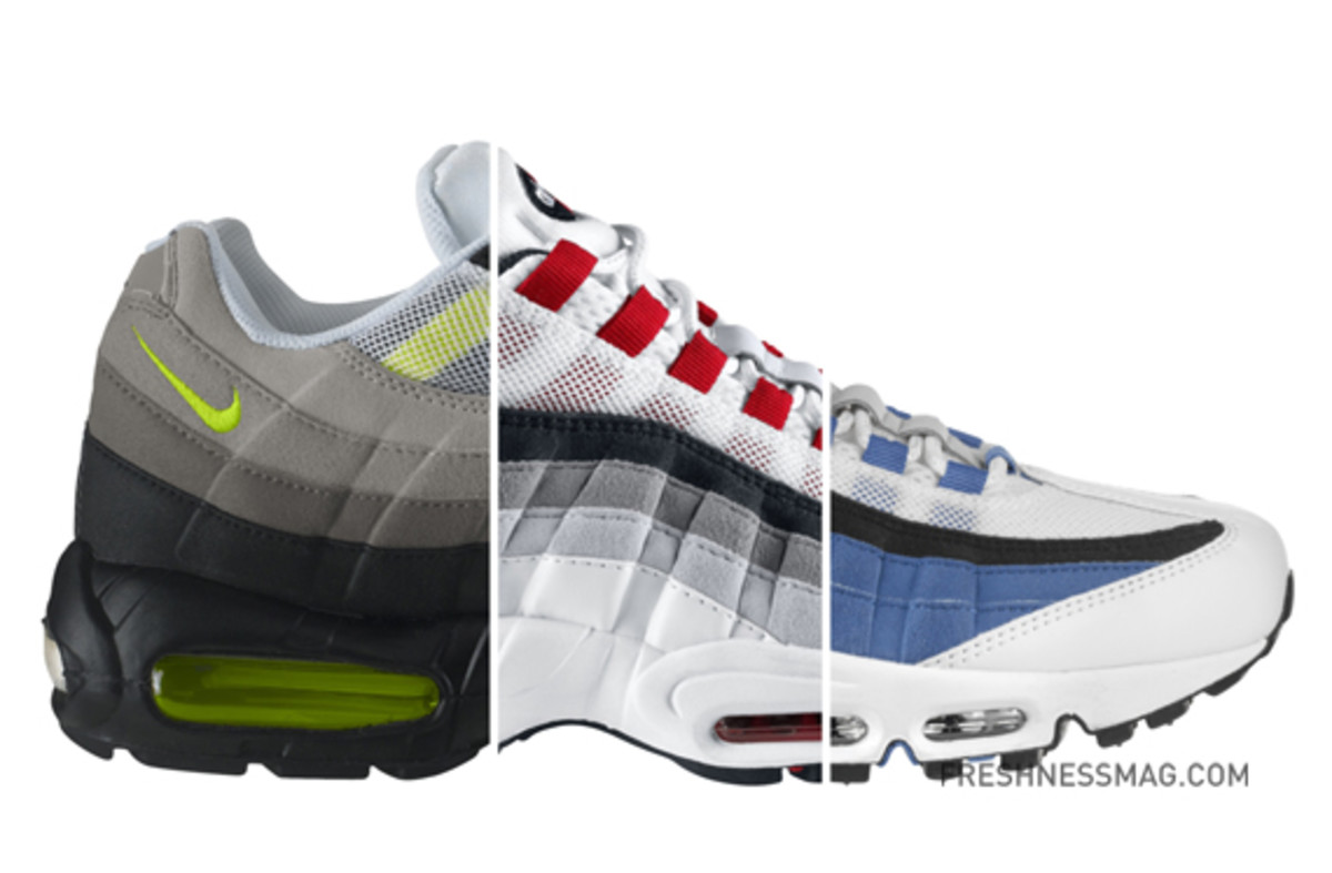 timeless design 8d091 0d2aa Nike Air Max 95 - Original Colorway  Available Now