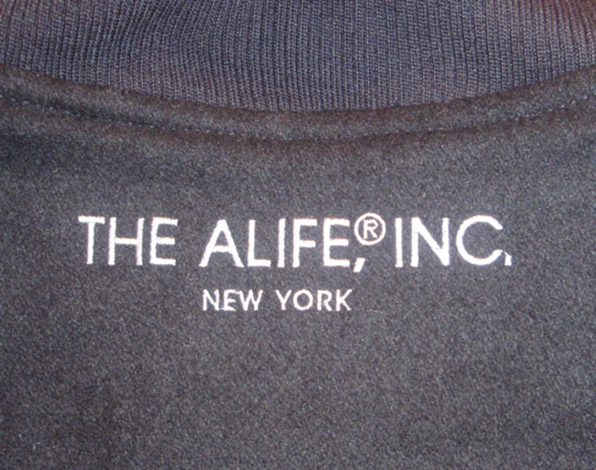 ALIFE Antique Varsity Jacket - 1