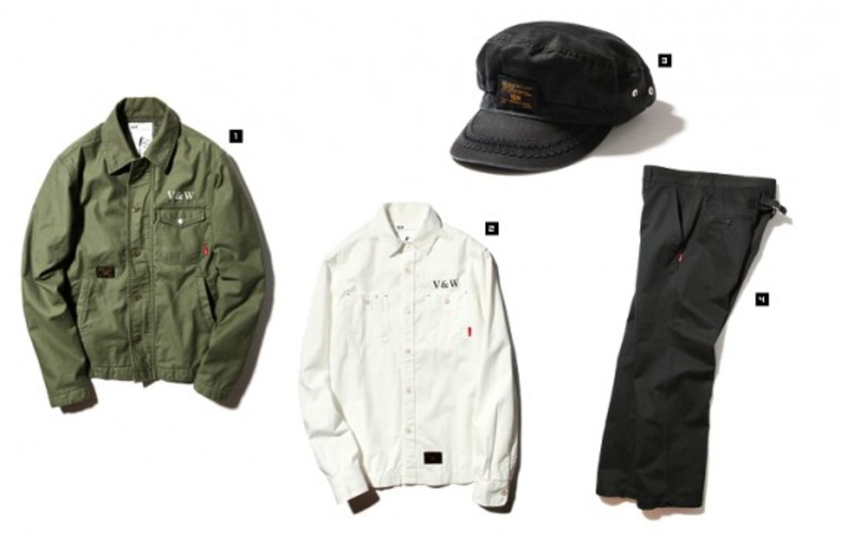 """VANS Syndicate x WTAPS - Fall 2010 - """"V&W"""" Collection 
