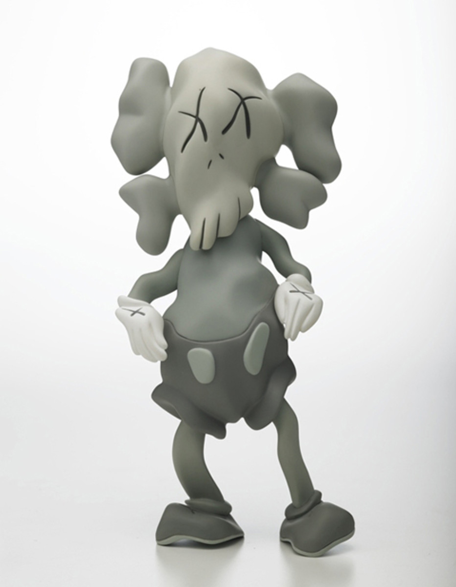 KAWS COMPANION Robert Lazzarinni Version grey