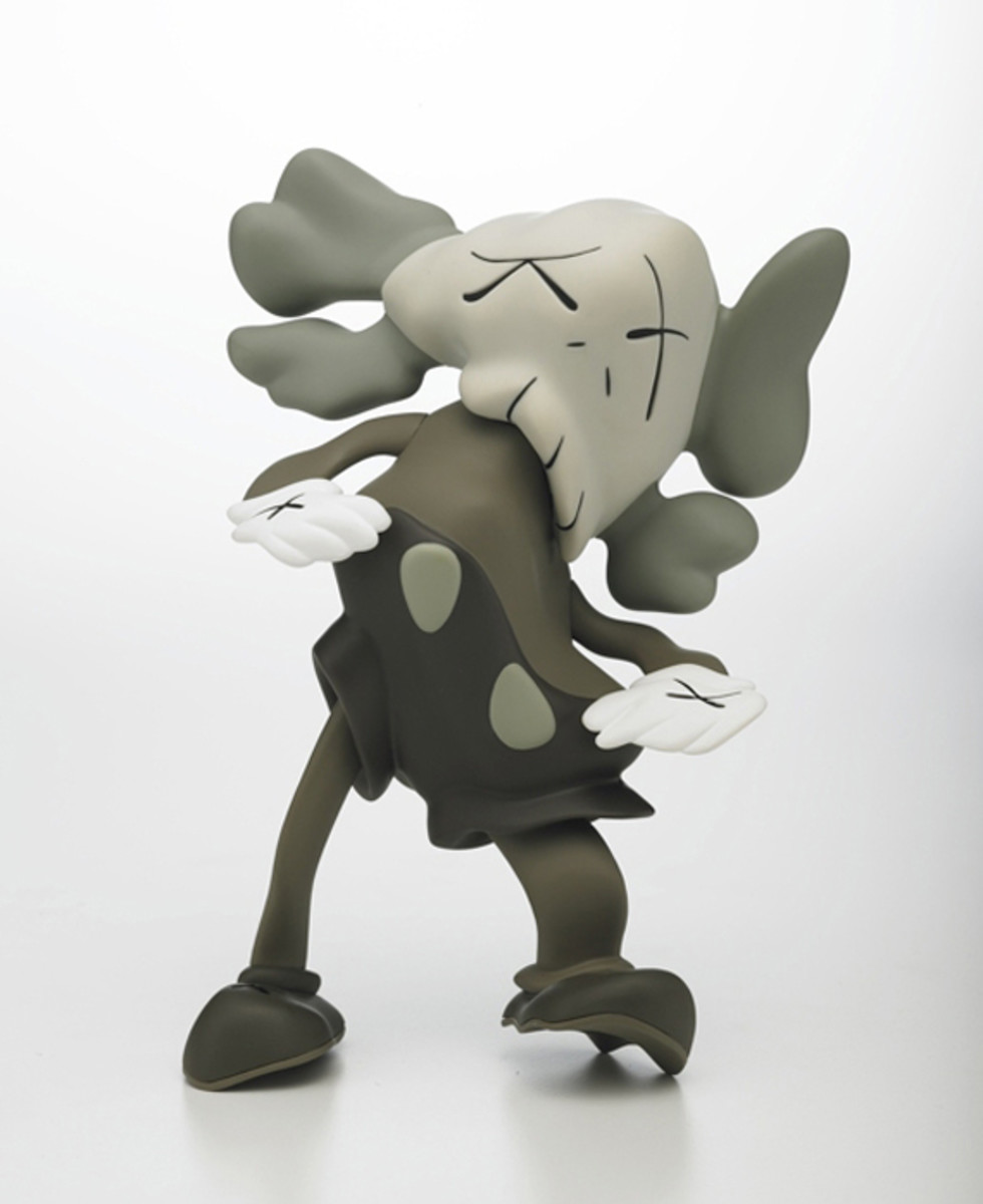 KAWS COMPANION Robert Lazzarini Version_Brown