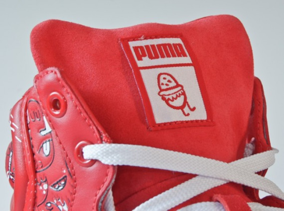 puma jon burgerman first round red 13