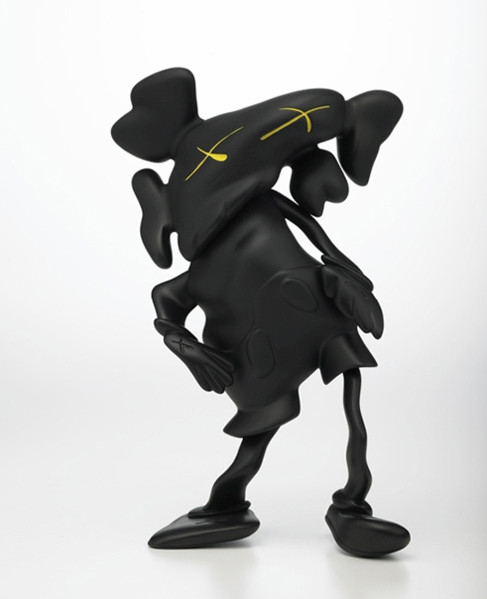 KAWS COMPANION (Robert Lazzarinni Version)_Black
