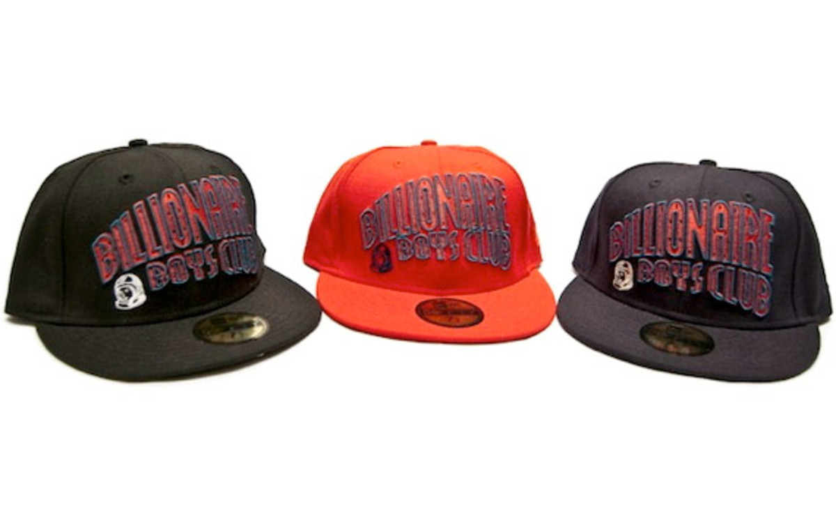 3558ea2769fb8 Billionaire Boys Club have just released three new colorways of their  Fall Winter 2010 collaboration 59FIFTY fitted cap with New Era. The new  fitted ...
