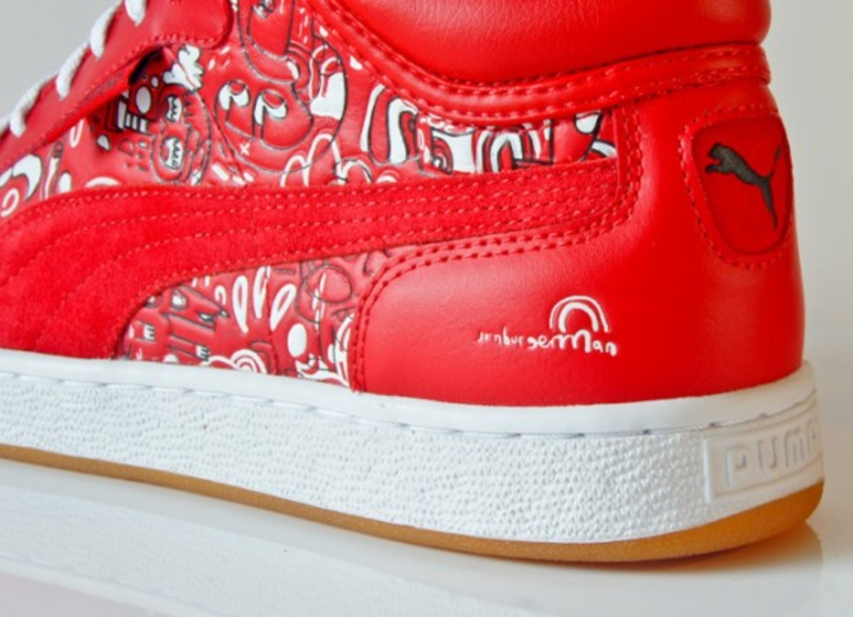 puma jon burgerman first round red 7
