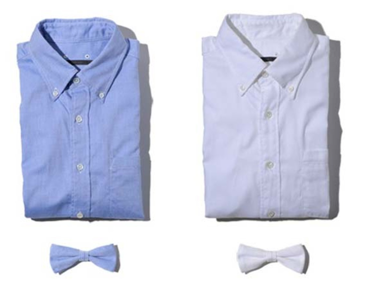 sophnet ss2011 shirt and bowtie summary