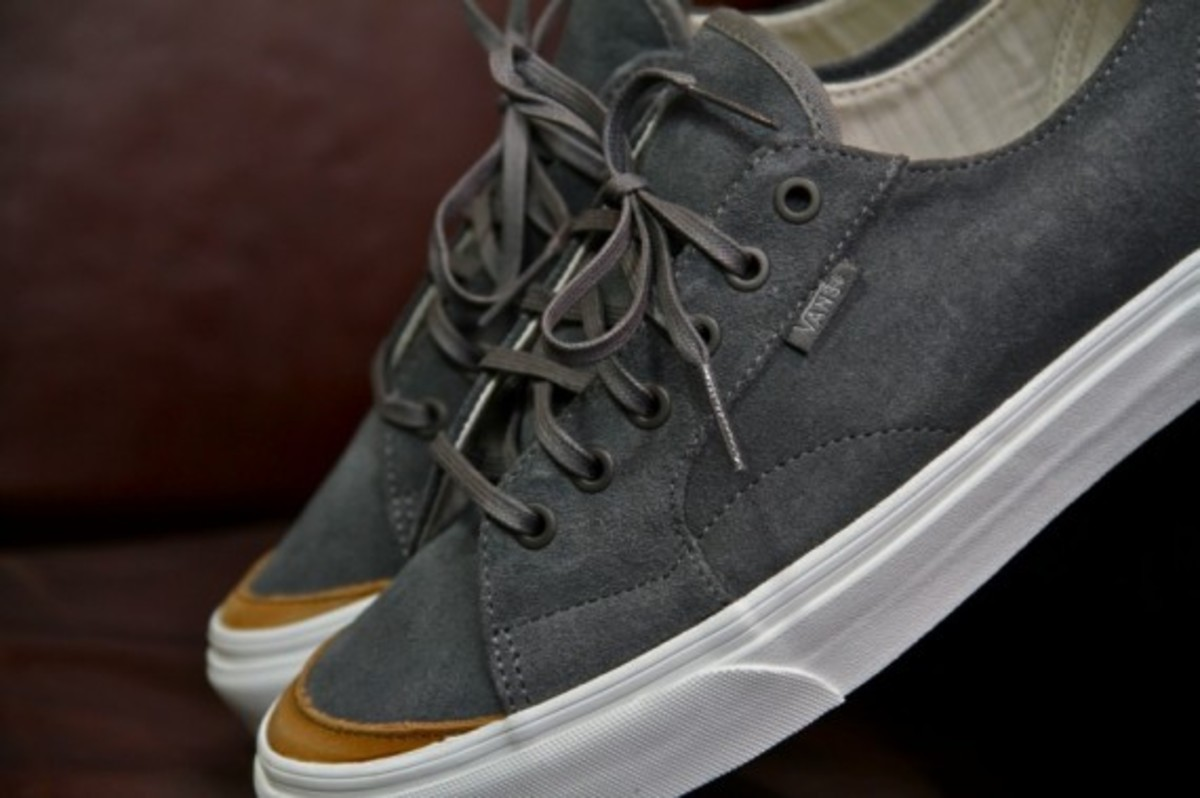 Vans California 31 CA Black Grey Suede 3