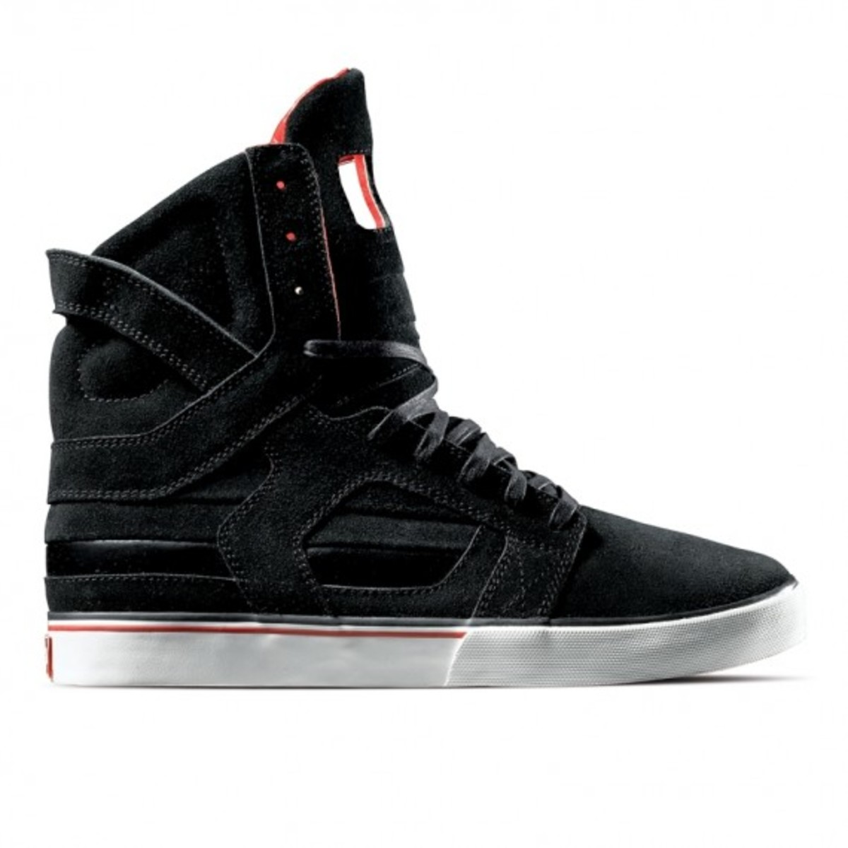 Skytop II Black Suede Patent Leather