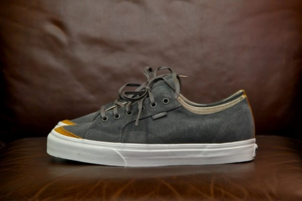 Vans California 31 CA Black Grey Suede 2