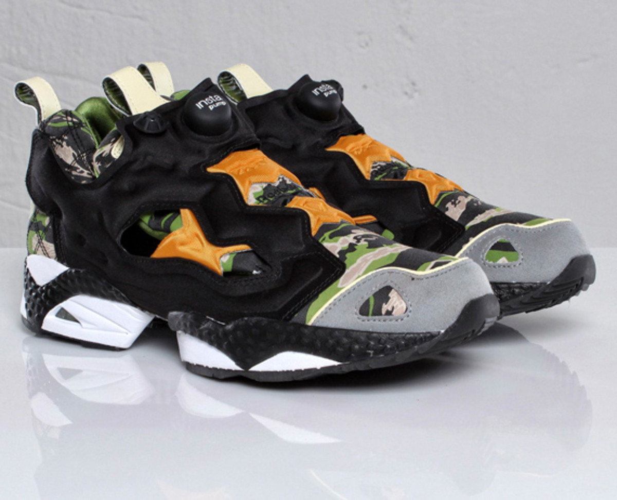 mita sneakers x reebok insta pump fury camouflage tiger camo available now freshness mag. Black Bedroom Furniture Sets. Home Design Ideas