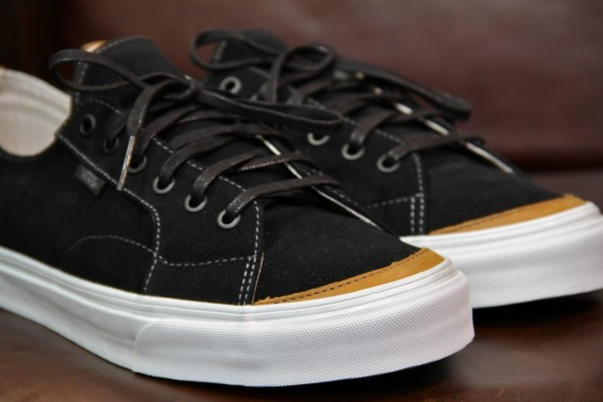 Vans California 31 CA Black Grey Suede 1