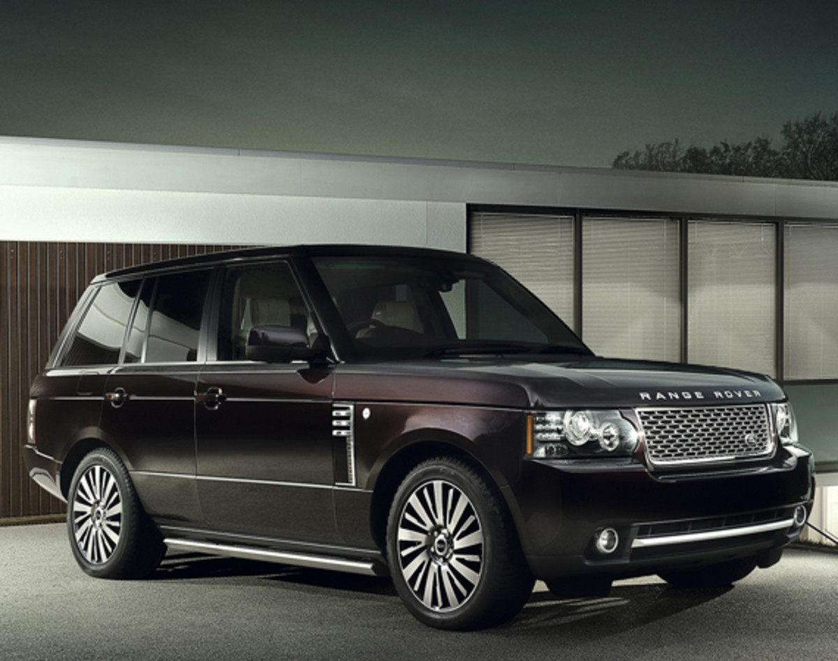 Range Rover Autobiography Ultimate Edition front