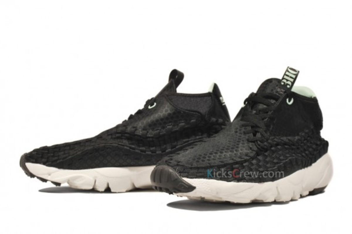 Nike Air Footscape Woven Chukka Free Motion 3HC - Black - White 1