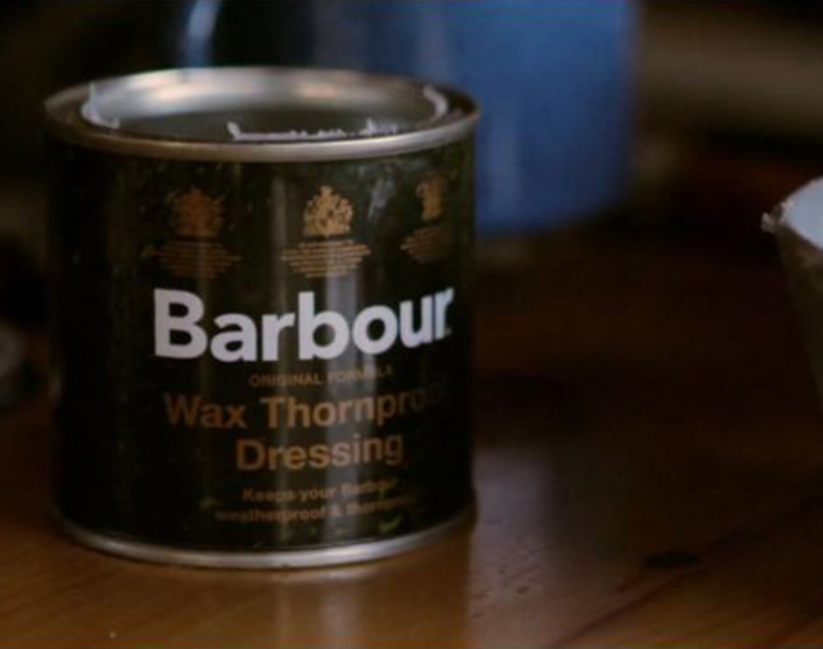 rewax a barbour jacket from LARK