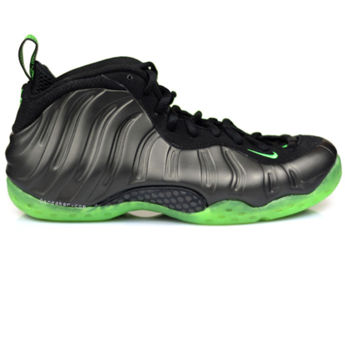 newest 86aab 21271 Nike Air Foamposite One - Black Electric Green   Release Date - Freshness  Mag