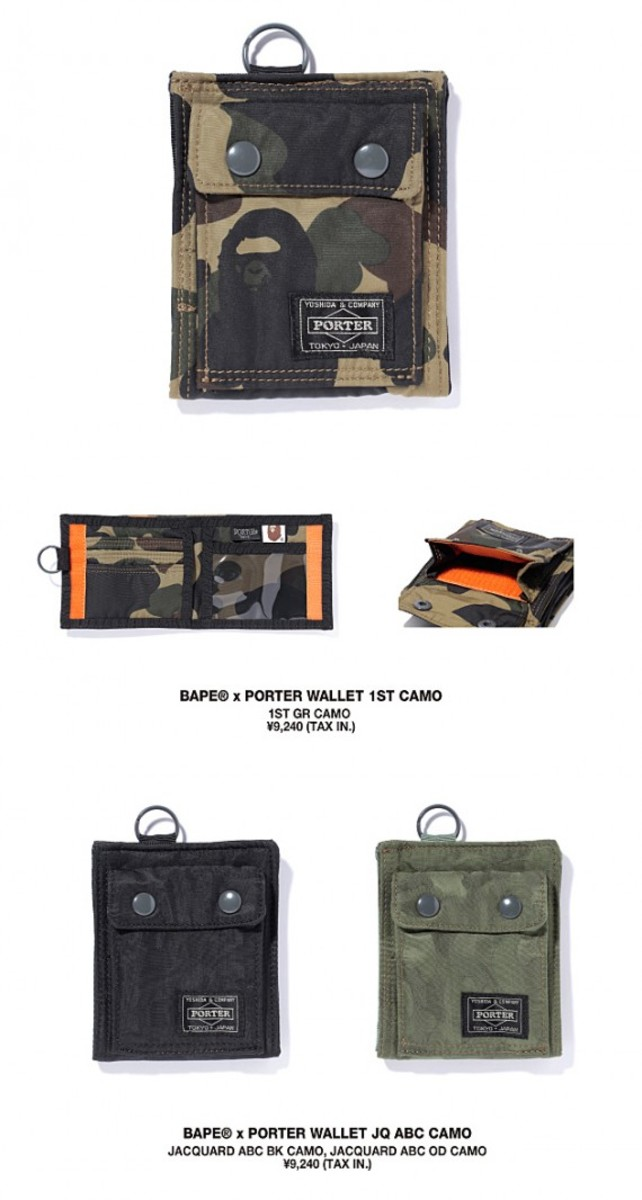 Bape x porter summer 2011 collection preview for Bathing ape x porter