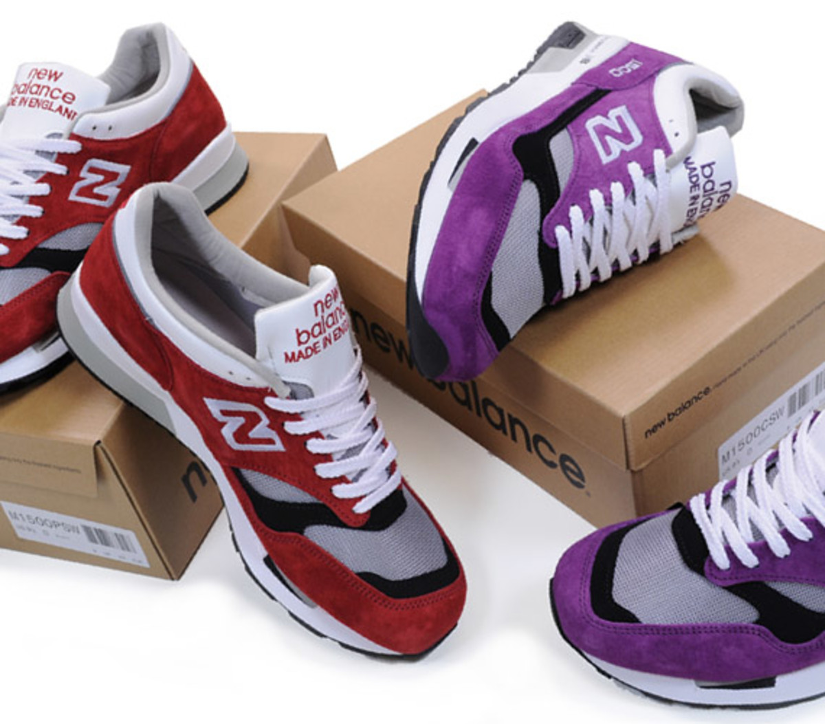 new balance 1500 red suede