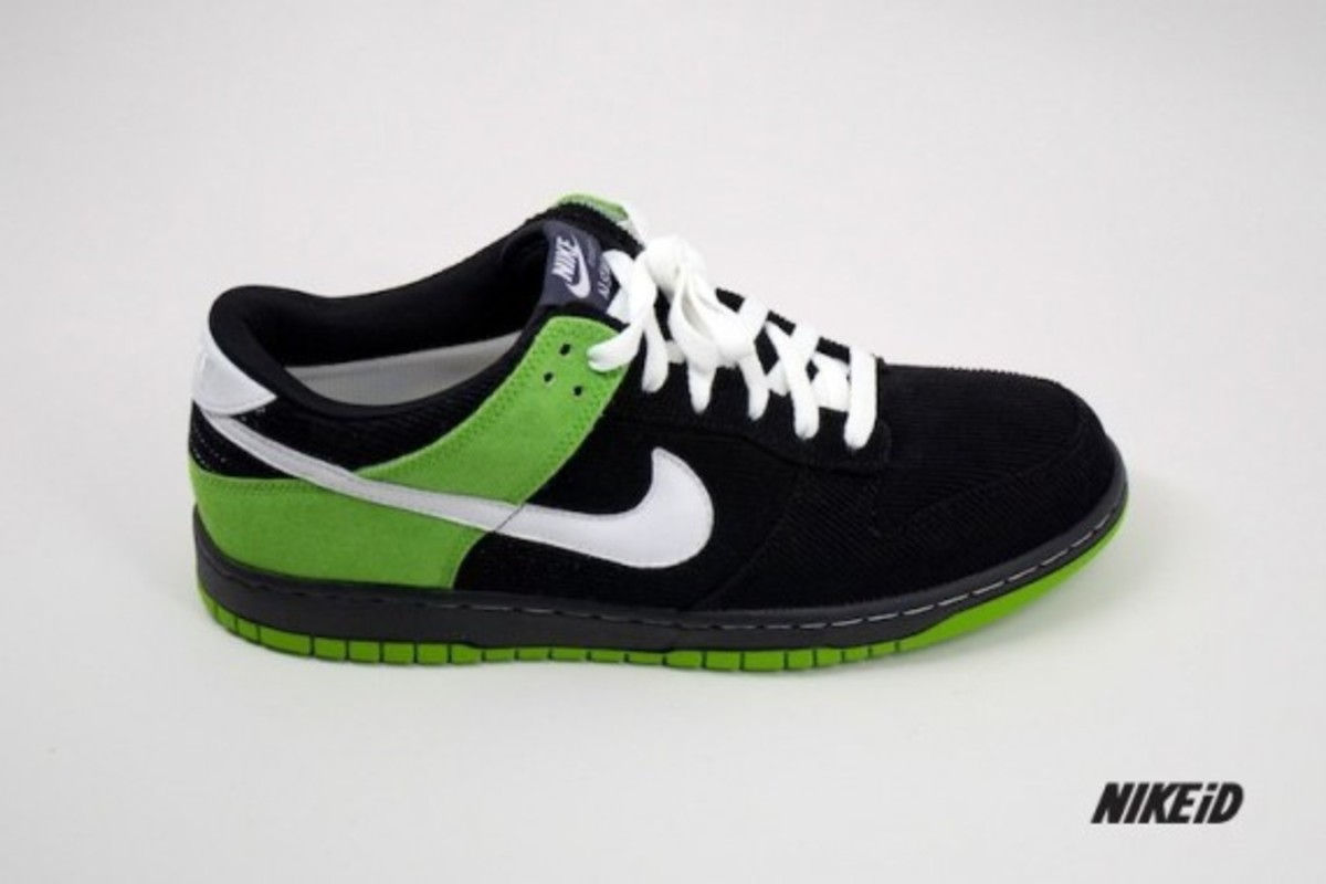 Nike iD Dunk Premium - Fall 2011 Materials & Options