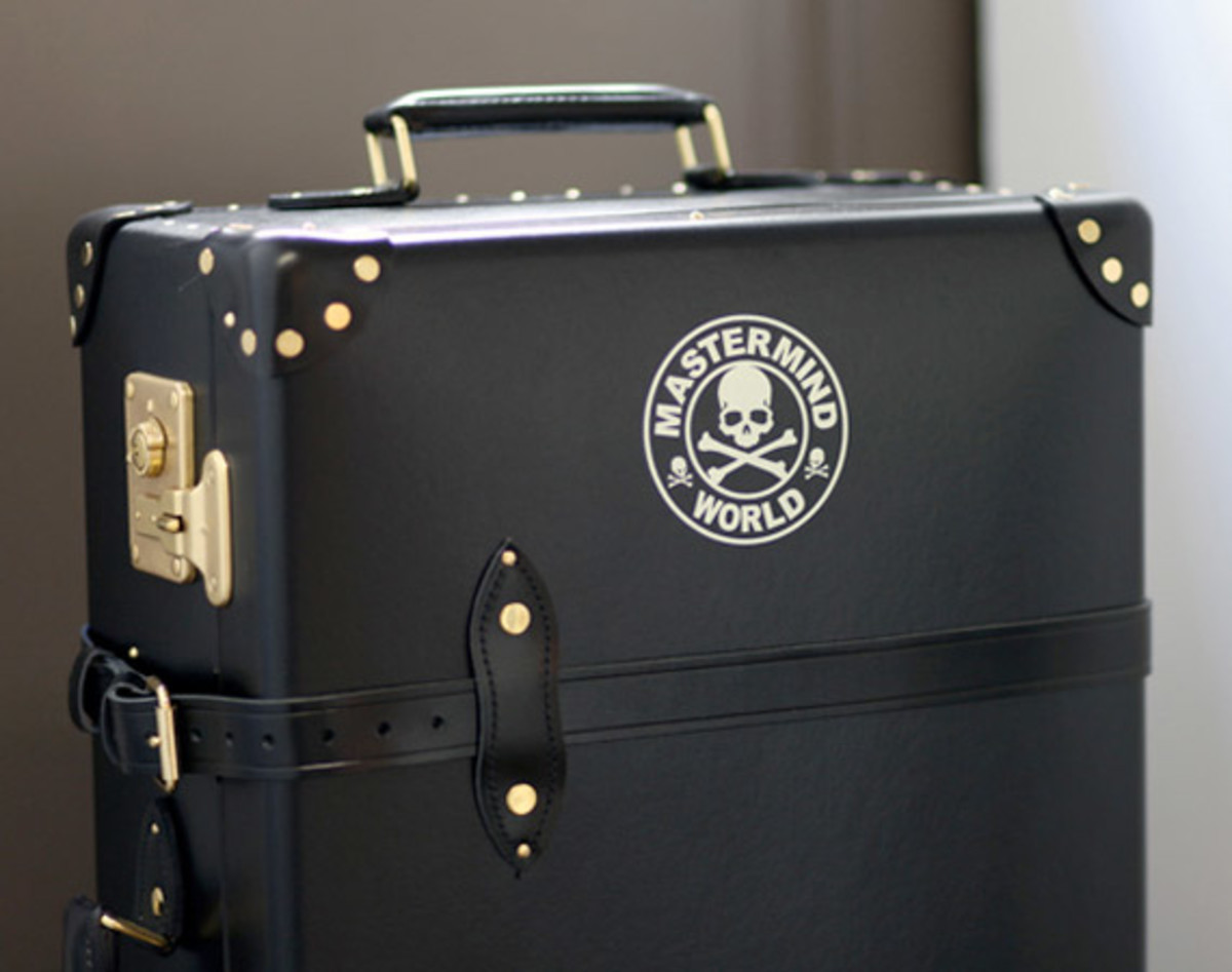 mastermind JAPAN x Globe Trotter Trunk | Preview