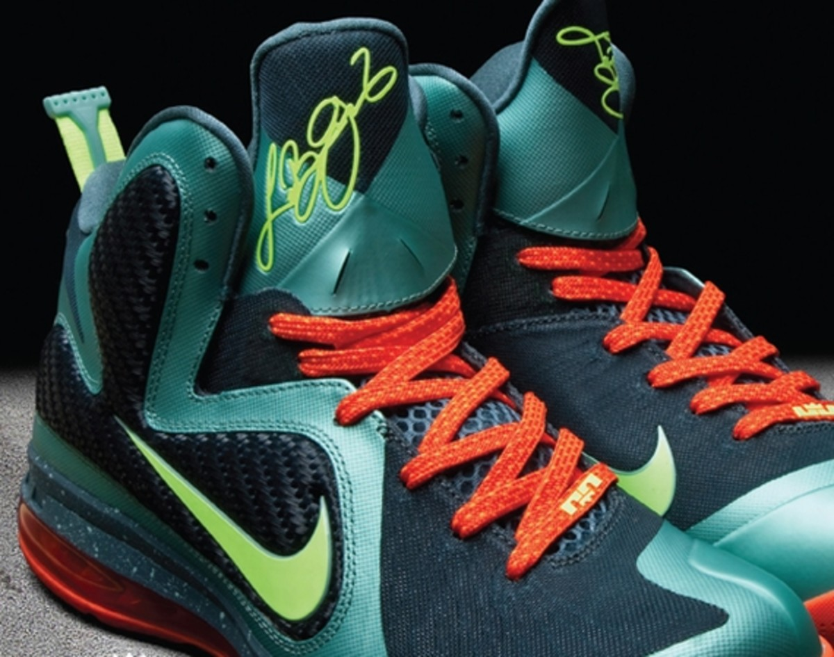online store 47495 d94f1 ... clearance nike lebron 9 miami b369d aaed8