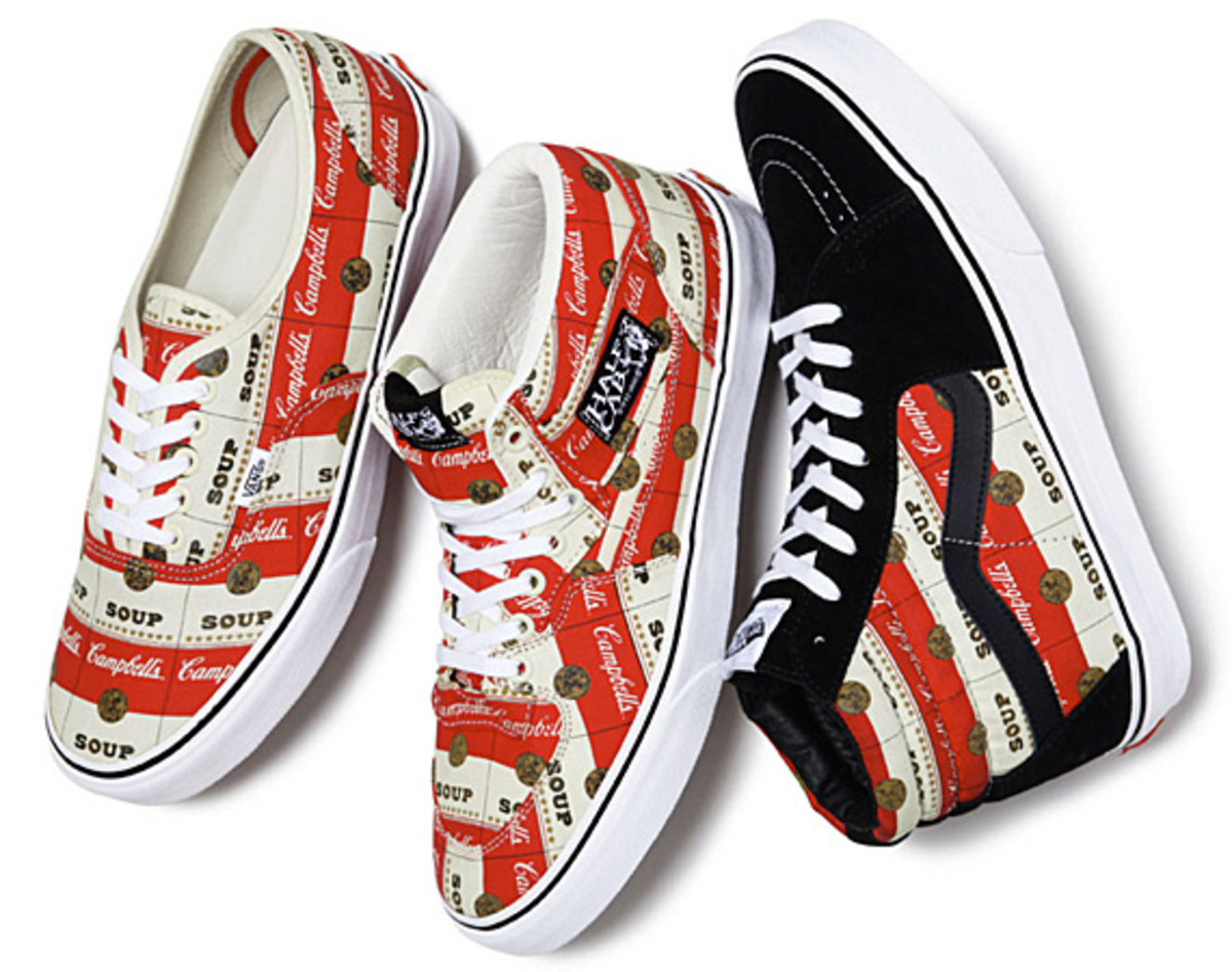 aad358ac8d It s a notion that s especially trenchant when applied to the latest Supreme  x Vans collection