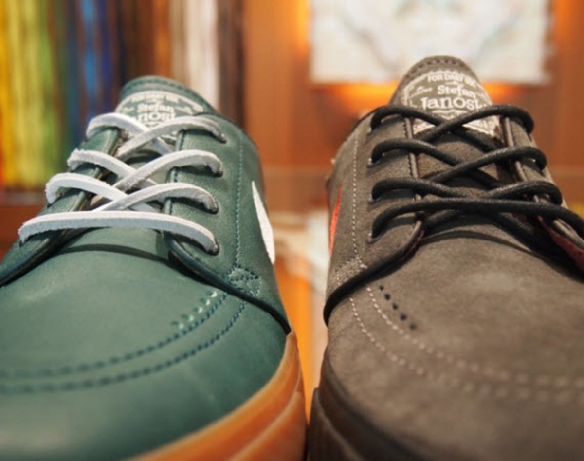 All you Nike SB Stefan Janoski Low fans out there should head over to the  NIKEiD site where the option of designing and customizing every detail of  the ...
