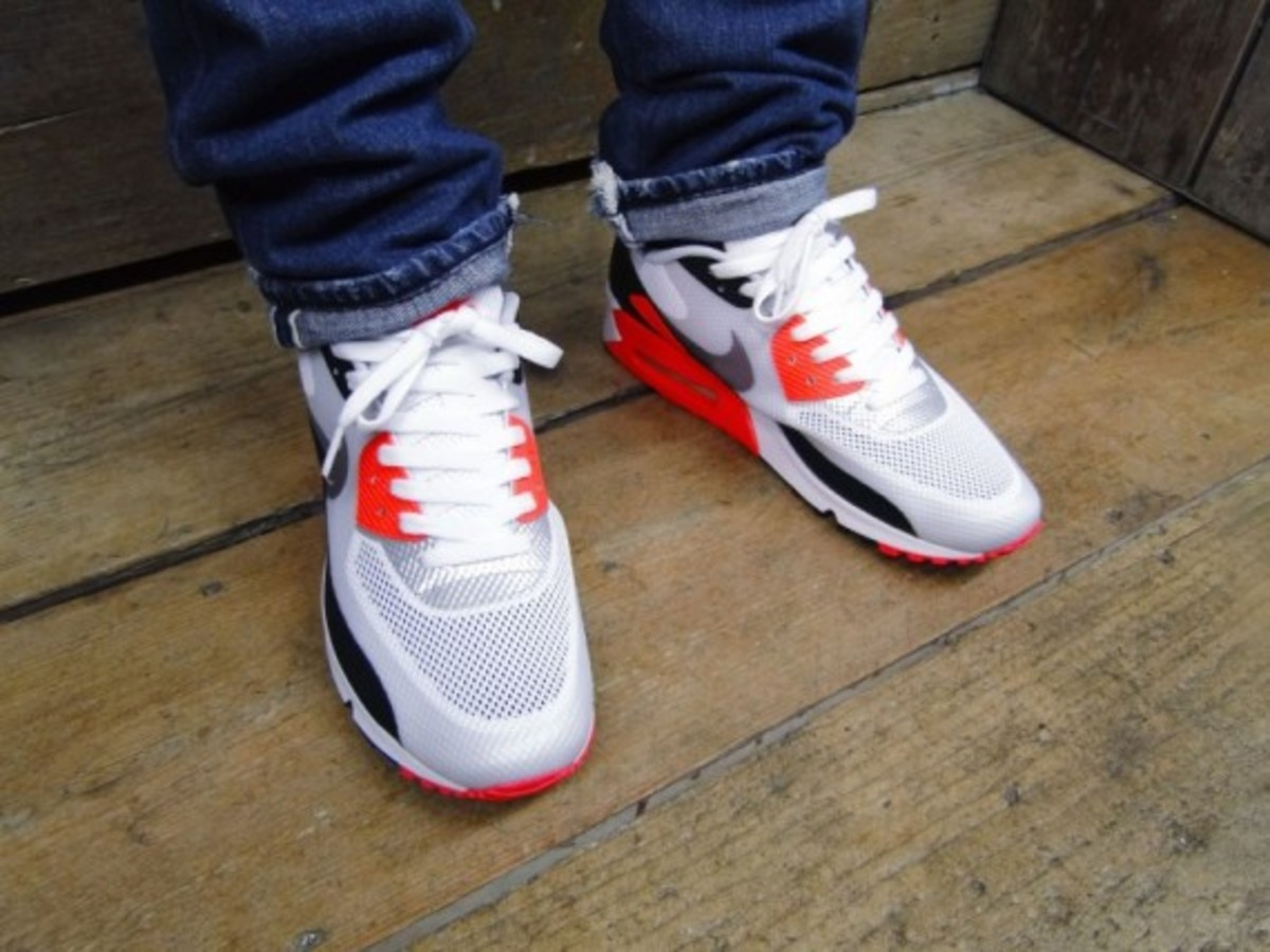 Nike Shoes | Air Max 90 Hyperfuse Infrared | Poshmark