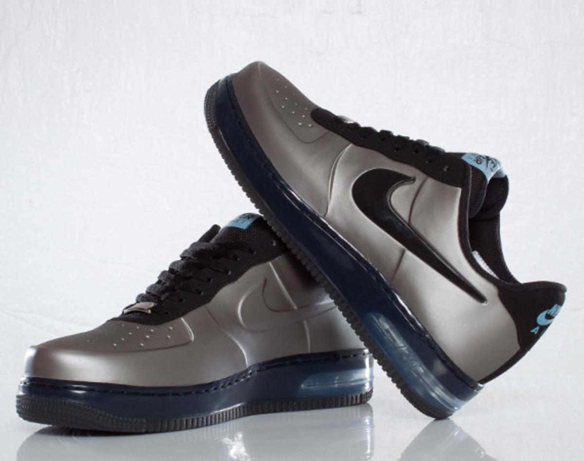 super popular a7765 02812 Nike Air Force 1 Foamposite Pro Low - Pewter/Pewter ...