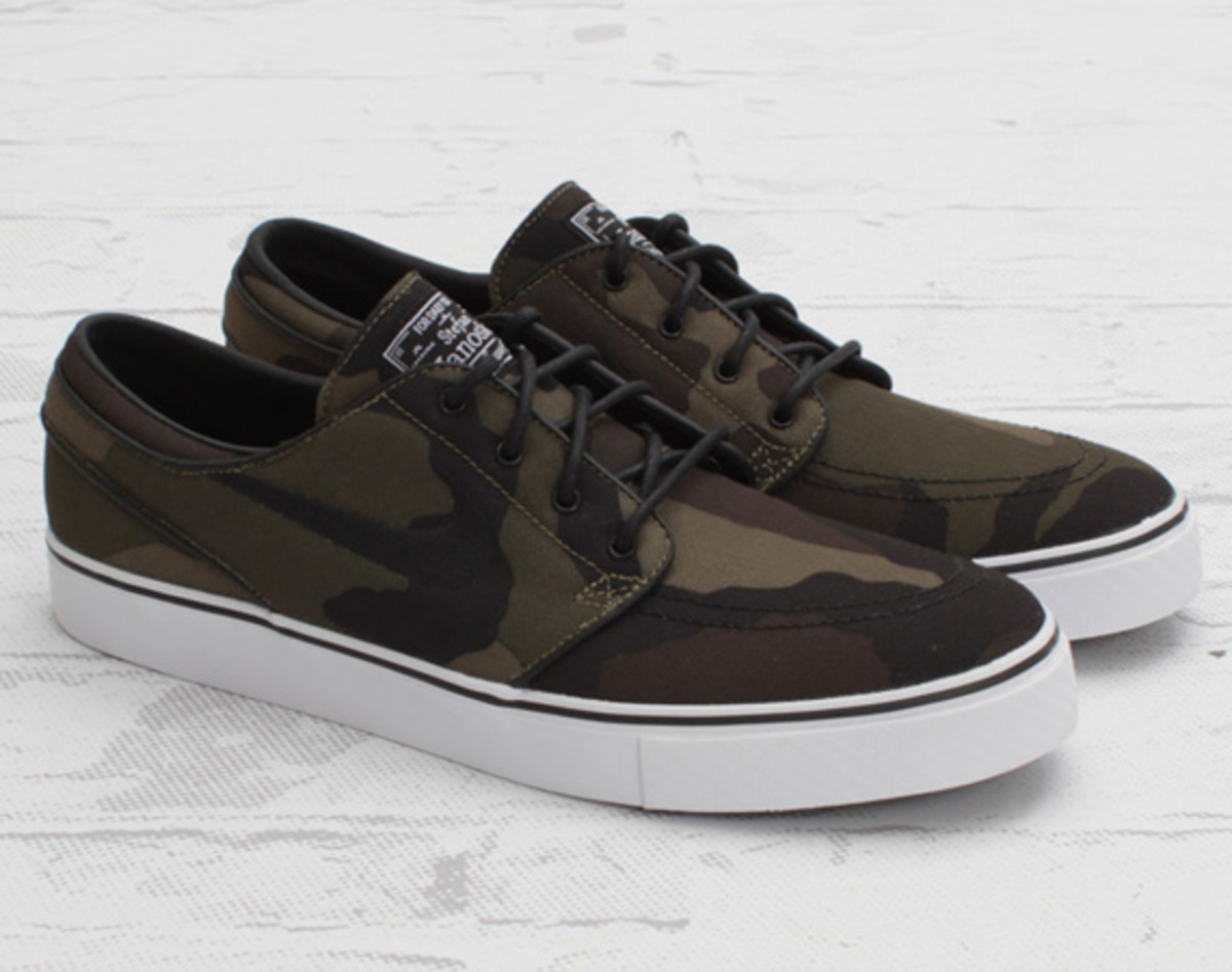 nike sb zoom stefan janoski camouflage available now freshness mag. Black Bedroom Furniture Sets. Home Design Ideas