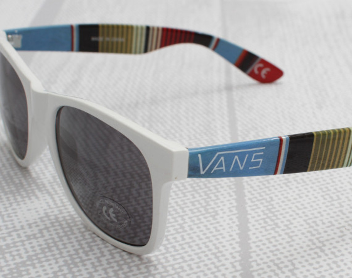 bd615f855a The spirit of Jeff Spicoli lives on in these namesake sunglasses from Vans.  Done up in classic Wayfarer fashion