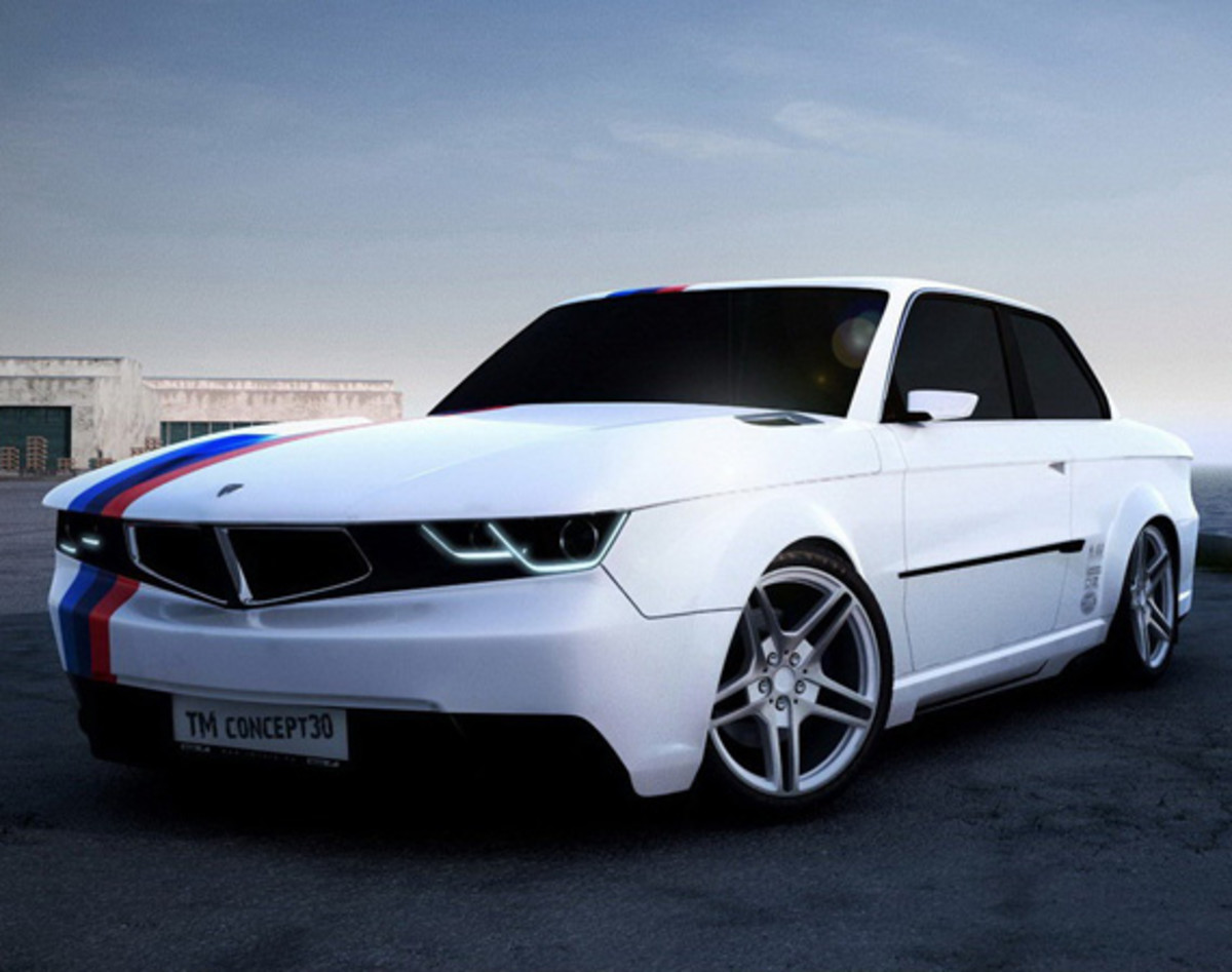 bmw 3 series coupe tm concept30 retro styling body kits by tmcars freshness mag. Black Bedroom Furniture Sets. Home Design Ideas