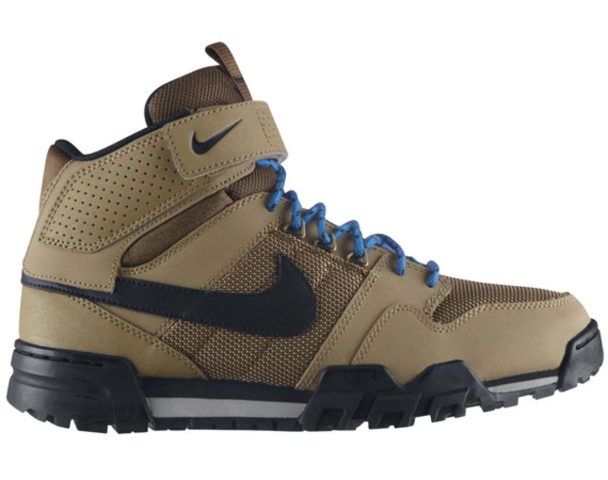 Nike Mogan Mid 2 OMS FilbertBlack Dark Khaki Photo Blue