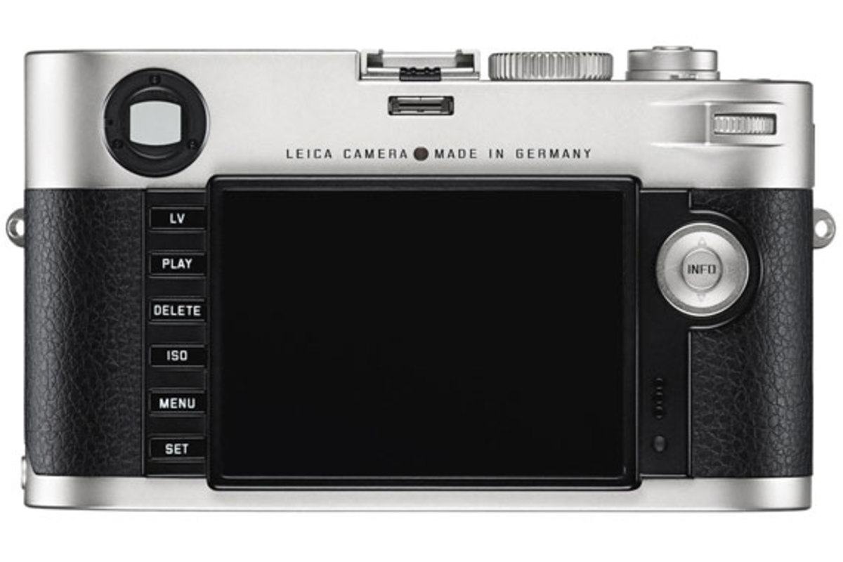 Leica M Digital Rangefinder Camera - With Full-Frame Image Sensor ...