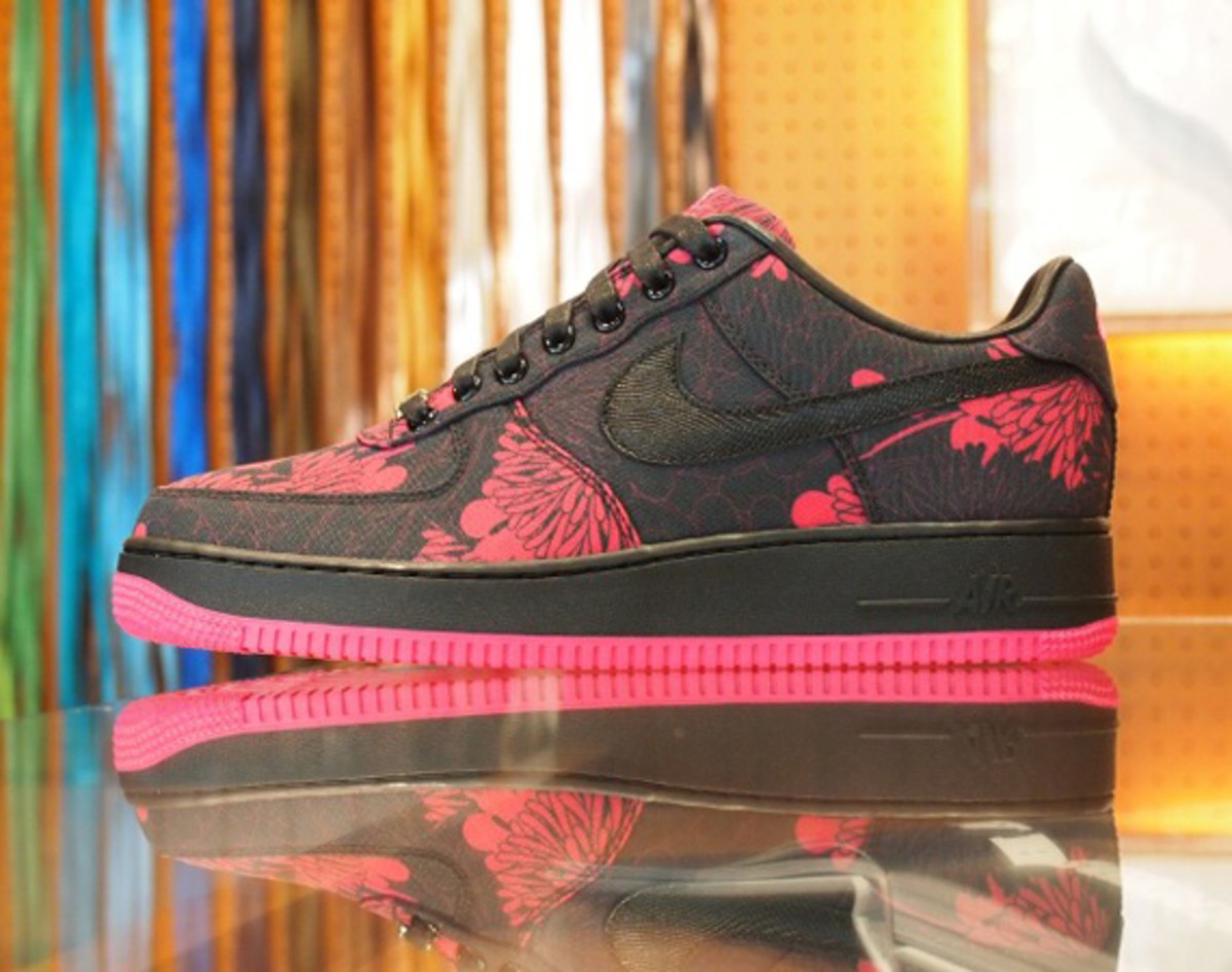 the latest 0ef22 9afac Airside Nippon x NIKEiD Air Force 1 Low Bespoke iD 2012 - Chrysanthemum - 0