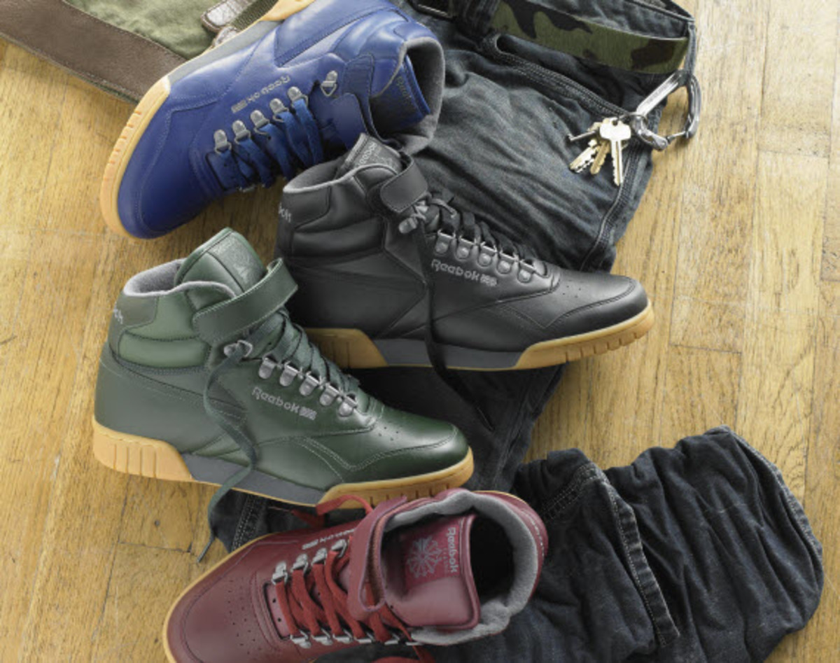 new styles bed9b d39d3 ... Plus Hi Basecamp Spring 2011 MAJOR x Reebok Ex-O-Fit Hi CN While it  didnt get a creamy peanut buttery make over like the Workout Mid we  previewed ...