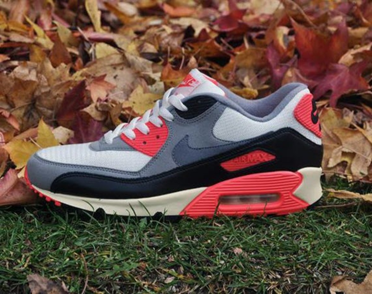 062ea380f2 ... wholesale nike air max 90 infrared vintage 45478 41d44