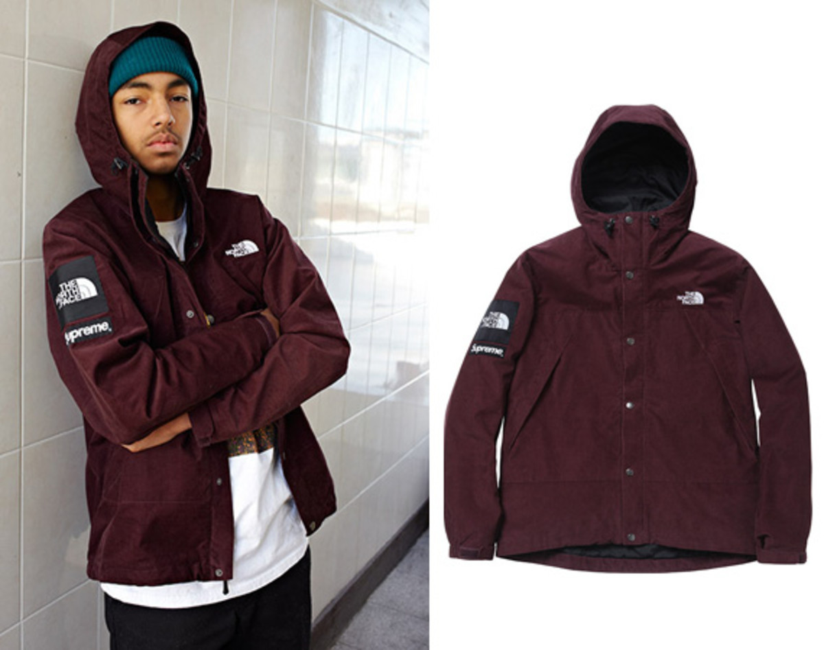adbba270d37 Supreme x The North Face Mountain Shell Jacket - Fall Winter 2012 ...