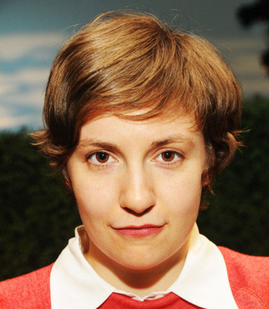 Winner Fashion Journalist Of The Year: TIME Magazine 2012 Coolest Person Of The Year Lena Dunham