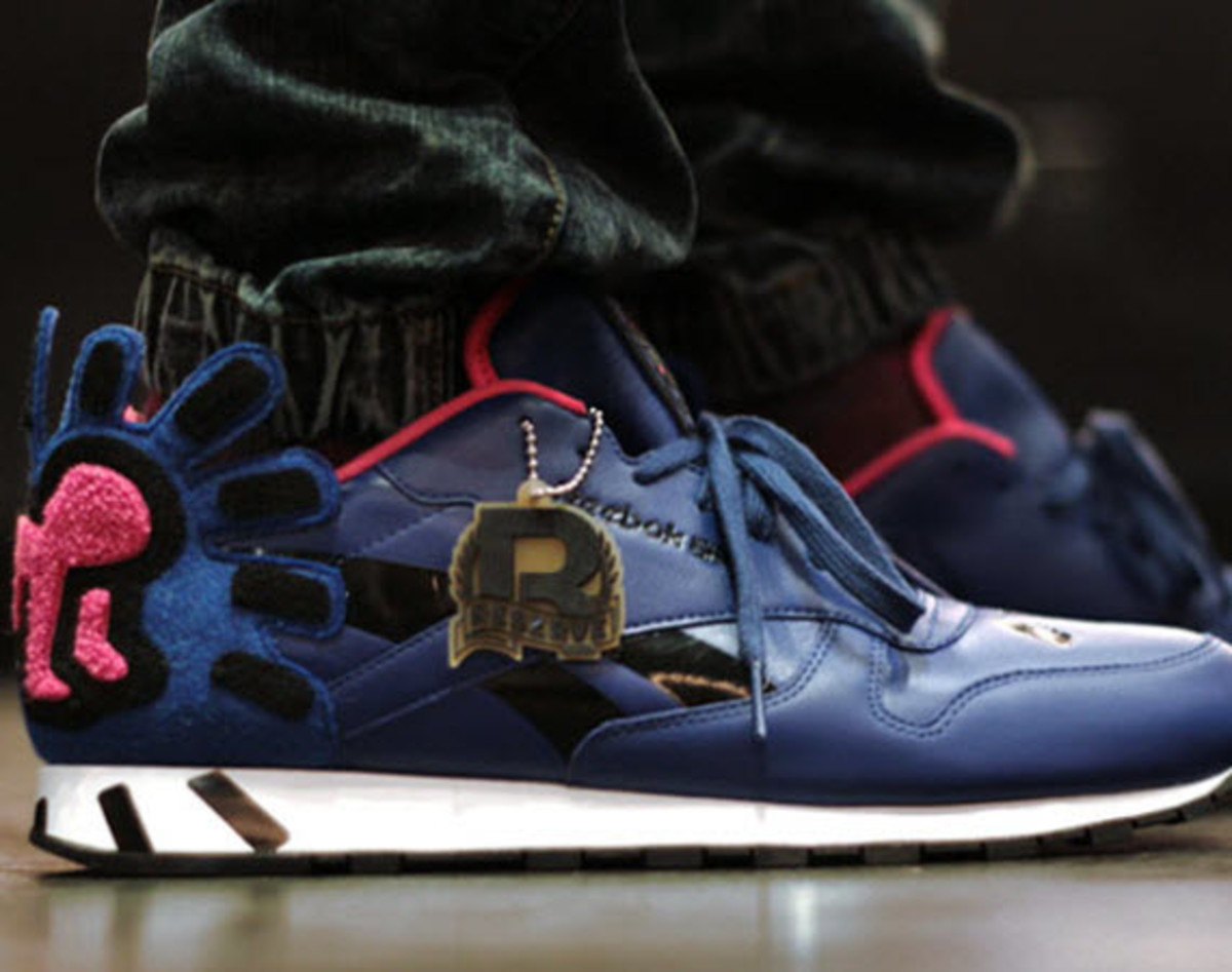 Keith Haring x Reebok Classics Leather Lux Freshness Mag