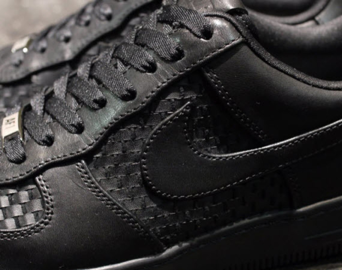 save off 143ce 08e71 Nike Air Force 1 Downtown LTH QS - Black Woven