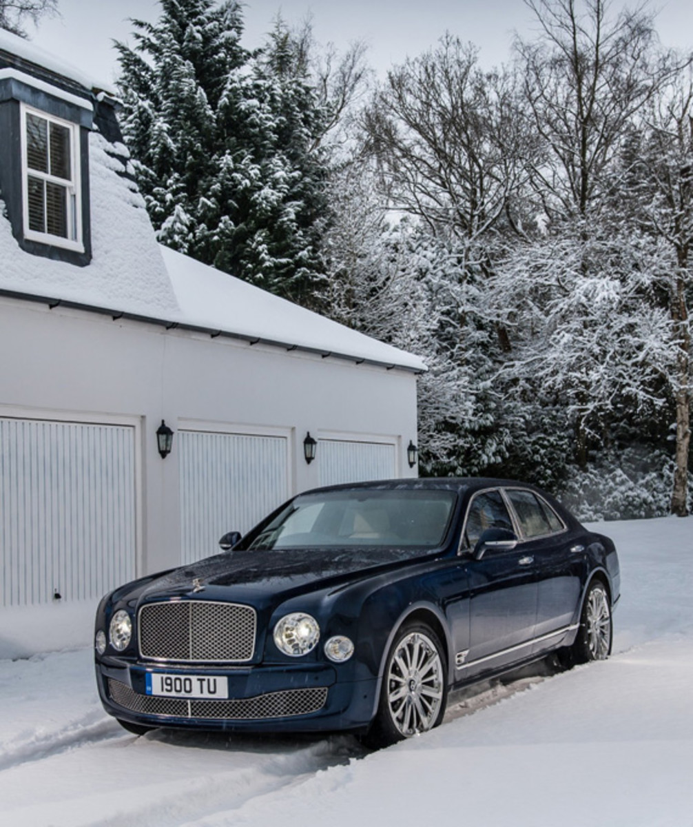 Bentley 2014: 2014 Bentley Mulsanne Enhanced Specification