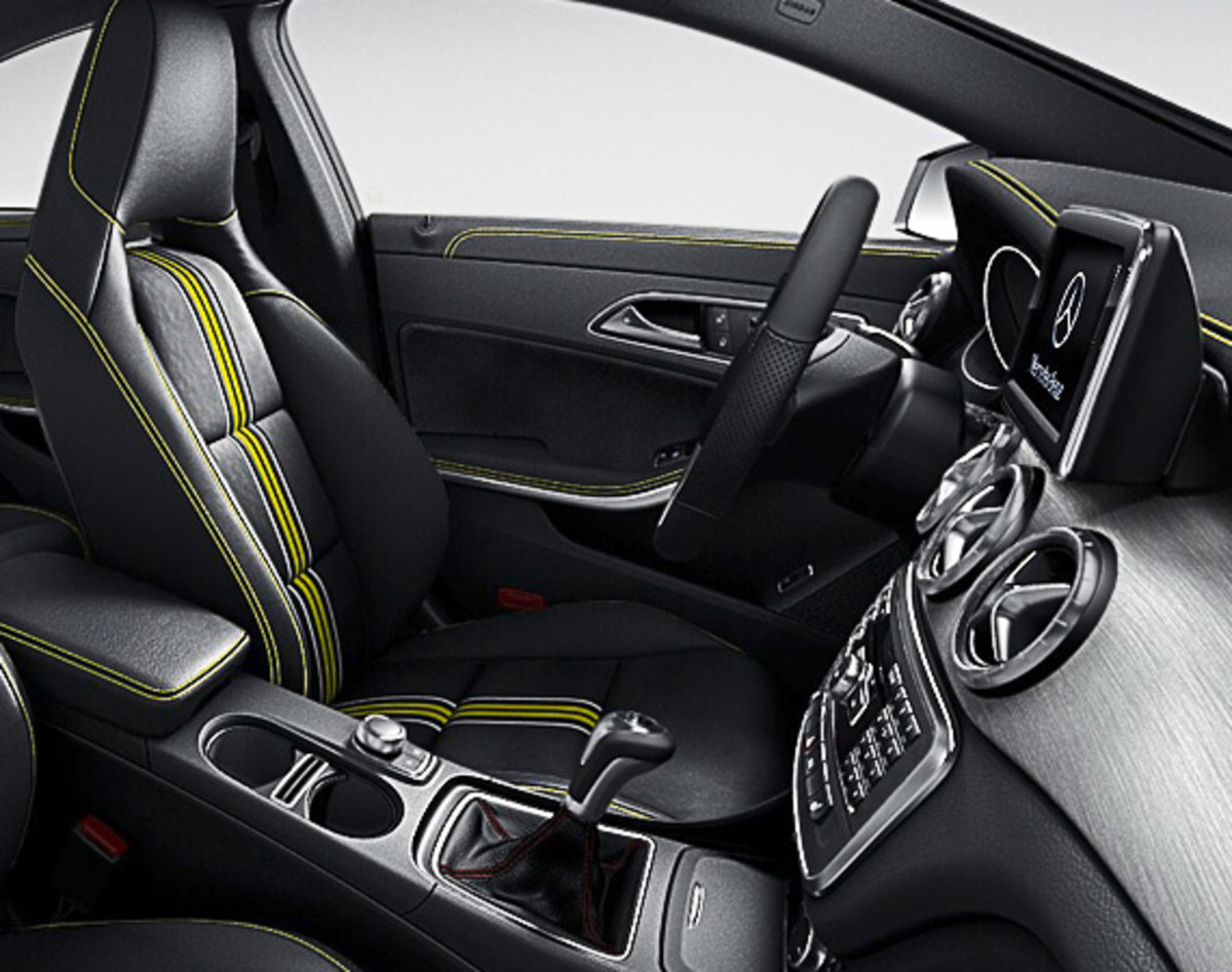 Mercedes benz cla edition 1 first year limited for Mercedes benz limited edition